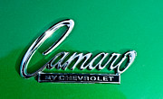 Featured Art - 1969 Chevrolet Camaro Emblem by Jill Reger