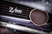 1969 Photos - 1969 Chevrolet Camaro Z28 Grille Emblem by Jill Reger