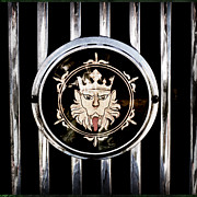 1969 Photos - 1969 Morgan Roadster Grille Emblem by Jill Reger