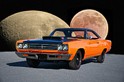 Rally Prints - 1969 Plymouth Road Runner Print by Dave Koontz