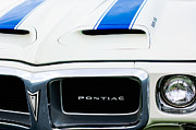 1969 Photos - 1969 Pontiac Trans Am Grille Emblem by Jill Reger