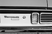 318 Prints - 1971 Plymouth Barracuda Convertible 318 Ci Taillight Emblem Print by Jill Reger