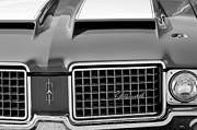 Oldsmobile Photos - 1972 Oldsmobile Grille by Jill Reger