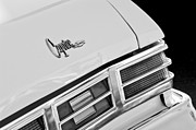 Taillights Framed Prints - 1975 Chevrolet Caprice Classic Convertible Taillights Emblem Framed Print by Jill Reger