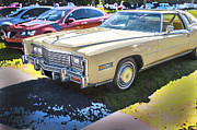 Caddy Prints - 1978 Cadillac Eldorado Print by Rich Franco