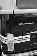 Bus Photos - 1978 Volkswagen VW Champagne Edition Bus Taillight Emblem by Jill Reger