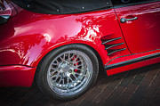 1984 Prints - 1984 Porsche 911 Carrera Cabriolet Slant Nose Print by Rich Franco