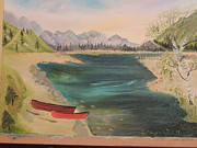 Carolyn Helen Davis - 2 Red Canoes