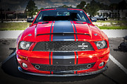 2007 Framed Prints - 2007 Ford Mustang Shelby GT500 427  Framed Print by Rich Franco