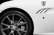 2010 Photo Posters - 2010 Ferrari California Wheel Emblem Poster by Jill Reger