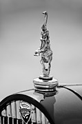 Black And White Photos Photos - 2012 Santarsiero Atlantis Concept Hood Ornament by Jill Reger