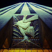 Rockefeller Plaza Art - 30 Rock by Natasha Marco