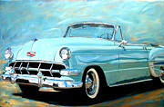 New Mexico Originals - 54 Convertible by Jack Atkins