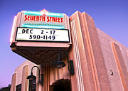7th Street Theatre - Chino Ca Print by Gregory Dyer
