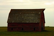 Saskatchewan Photos - A Barn In Saskatchewan by Jeff  Swan