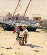 Famous Artists - A Basket of Clams by Winslow Homer