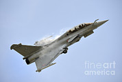 Featured Acrylic Prints - A Dassault Rafale Of The French Air Acrylic Print by Remo Guidi