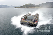 Featured Art - A Landing Craft Air Cushion by Stocktrek Images