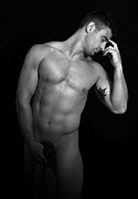 Naked Male Art Photos - A Moment Like This   by Mark Ashkenazi