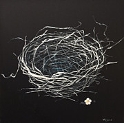 Nest Paintings - A Nest - Imagination by Songmi Park