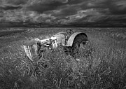 Randall Nyhof - Abandoned Farm Tractor on the Prairie