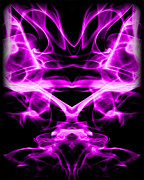 Purple Prints - Abstract 126 Print by J D Owen