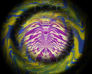 Hypnotic Prints - Abstract 141 Print by J D Owen
