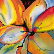 Dessie Durham Art - Abstract Petals by Dessie Durham