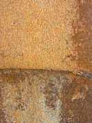 Rust Lines Framed Prints - Abstract Rust 1 Framed Print by Anita Burgermeister