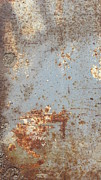 Rust Lines Framed Prints - Abstract Rust 4 Framed Print by Anita Burgermeister