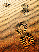 Sahara Sunlight Prints - Abstract sand pattern  Print by Sorin Rechitan