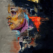 Abstract Women 015 Print by Corporate Art Task Force