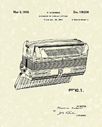 Robbins Posters - Accordion 1938 Patent Art Poster by Prior Art Design