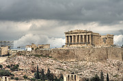 Acropolis Photo Posters - Acropolis Poster by Gabriela Insuratelu