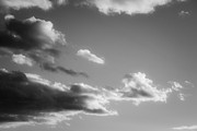 Grey Clouds Prints - Across the Clouds Print by Nathaniel Kidd