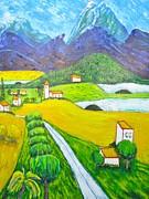 Clarence Major - Acrylic on Canvas