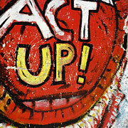 Newseum Art - Act Up by Charlie Russell