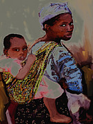 Vannetta Ferguson - African Mother And Child