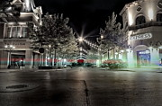 Town Square Photo Prints - After Hours Print by Mark  Ross