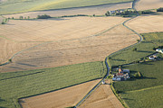 Agronomy Photos - Agricultural Landscape Of The Vienne by Laurent Salomon