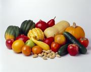 Agriculture - Autumn Fruits Print by Ed Young