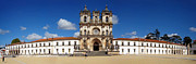 Clear Blue Sky Framed Prints - Alcobaca Monastery Framed Print by Jose Elias - Sofia Pereira