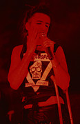 Concerts Prints - Alice Cooper at the Concord Pavillion Print by Daniel Larsen