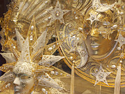 Venice Masks Prints - All That Glitters Print by Elvira Butler