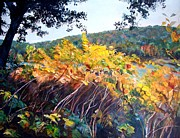 River View Paintings - Allegheny Green by Kay Bohren