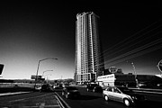 Allure Photo Prints - allure luxury condominium tower on west sahara avenue Las Vegas Nevada USA Print by Joe Fox