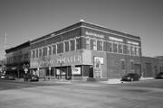 Blue Bricks Photos - Alpena Michigan - Thunder Bay Theatre by Frank Romeo