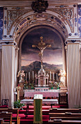 Salo Photos - Altar in Salo Cathedral by Steve Heap