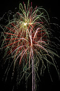 Pyrotechnics Metal Prints - Amazing Fireworks Metal Print by Garry Gay