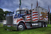 Wagon Wheels Photos - American Circus Truck by Ian Mitchell